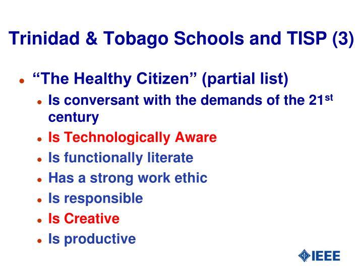 Trinidad & Tobago Schools and TISP (3)