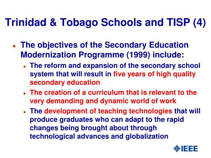 Trinidad & Tobago Schools and TISP (4)