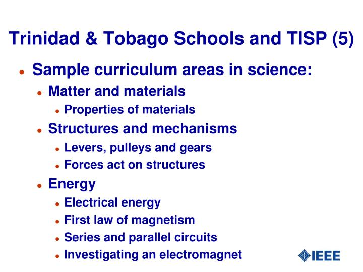 Trinidad & Tobago Schools and TISP (5)