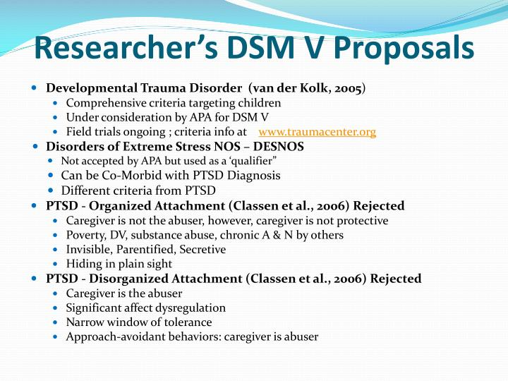 PPT - The Impact of Attachment Trauma on Child Development ...