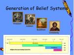 generation of belief systems
