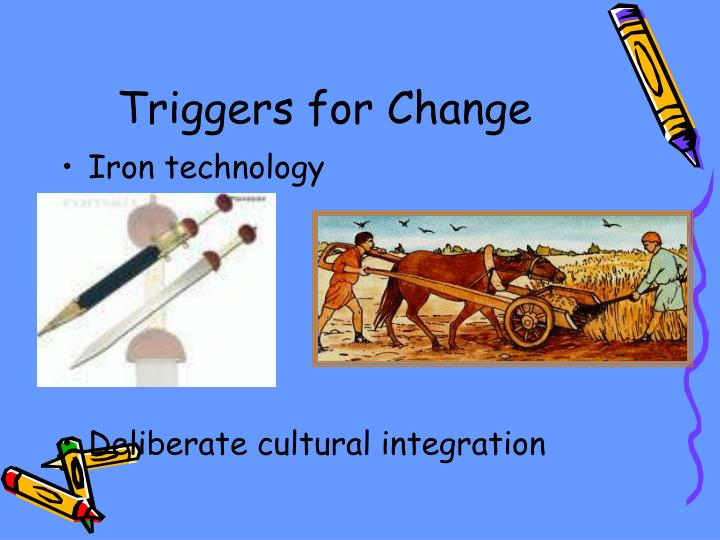 Triggers for Change