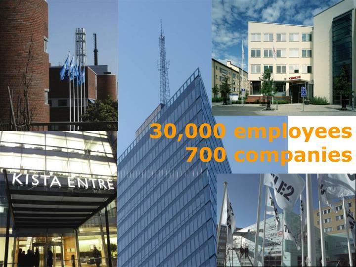 30,000 employees