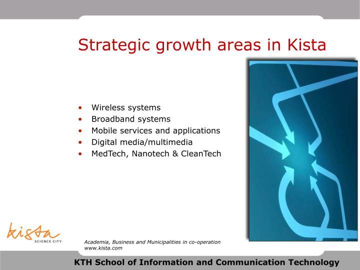 Strategic growth areas in Kista