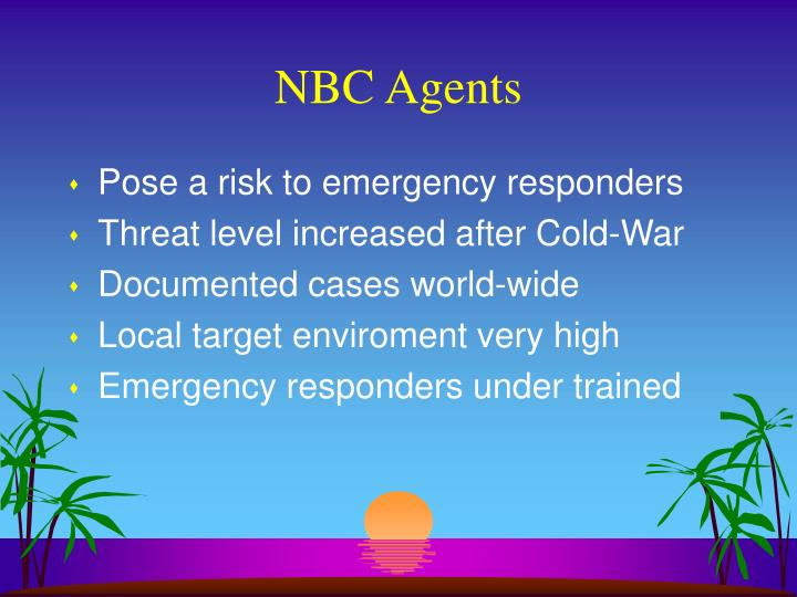 NBC Agents