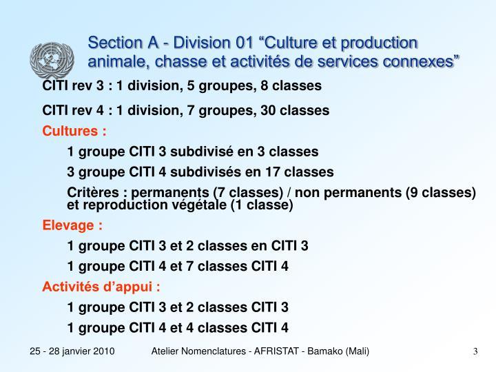 Atelier Nomenclatures - AFRISTAT - Bamako (Mali)