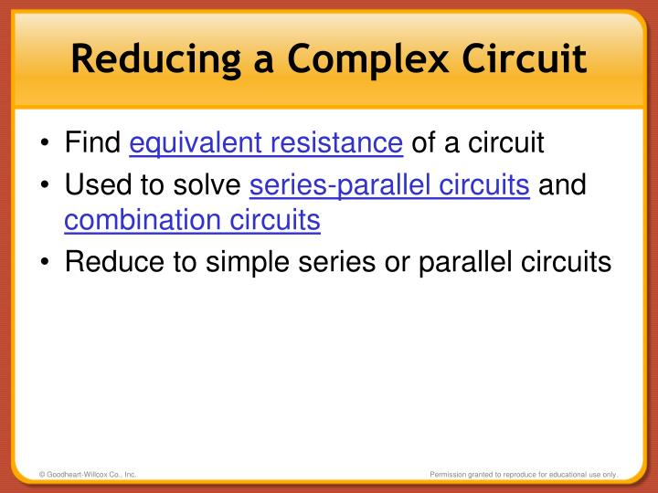 Reducing a Complex Circuit