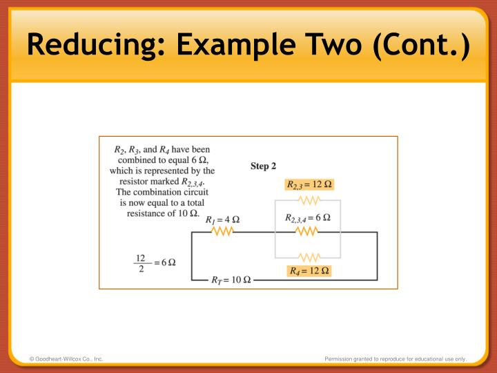 Reducing: Example Two (Cont.)