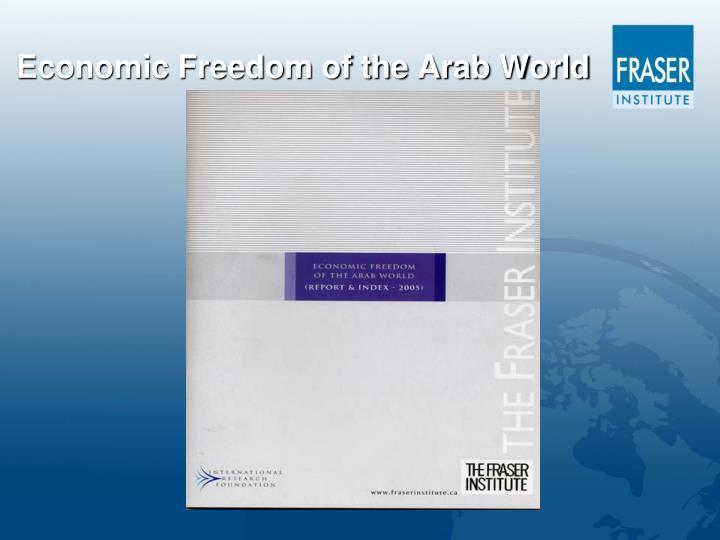 Economic Freedom of the Arab World