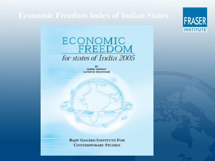 Economic Freedom Index of Indian States
