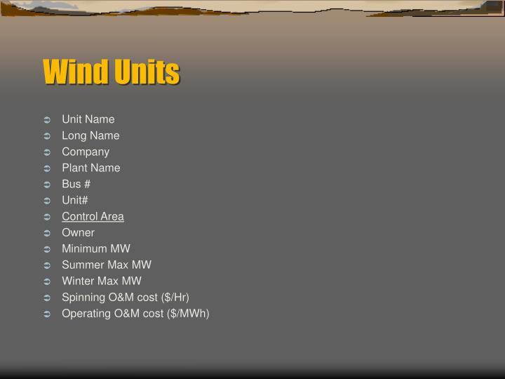 Unit Name
