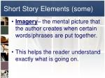 short story elements some1