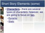 short story elements some2