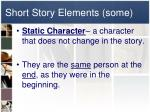 short story elements some3