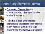 short story elements some4