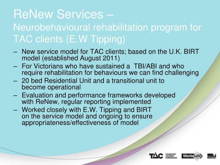 ReNew Services –