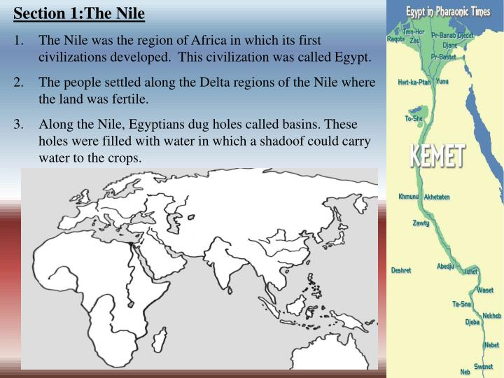 Section 1:The Nile