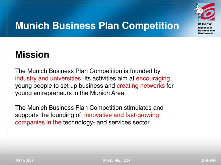 Munich Business Plan Competition