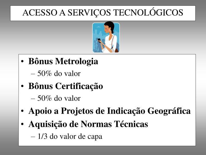 Bônus Metrologia