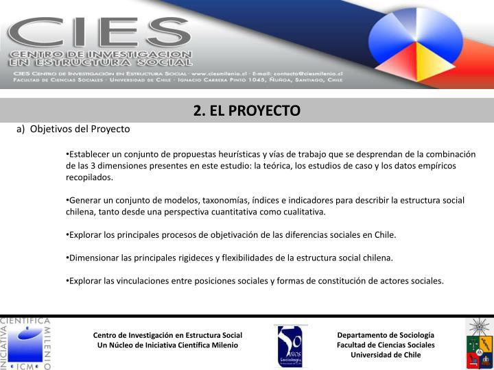 2. EL PROYECTO