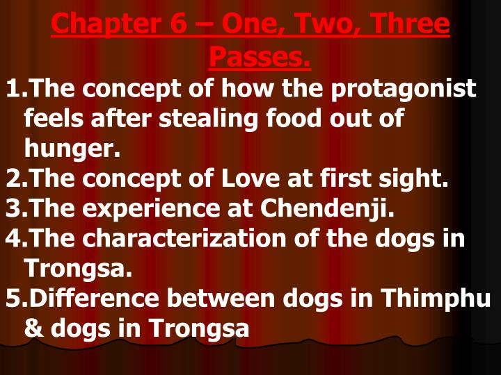 Chapter 6 – One, Two, Three Passes.