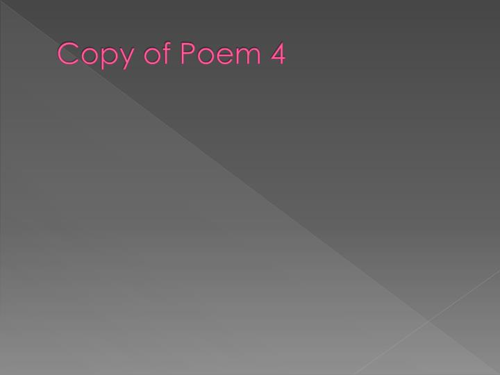 Copy of Poem 4