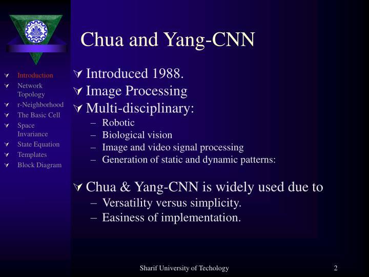 Chua and Yang-CNN