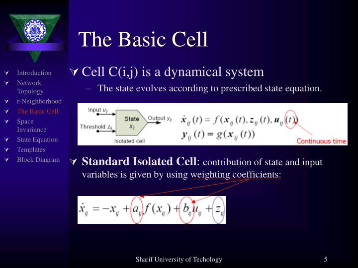 The Basic Cell