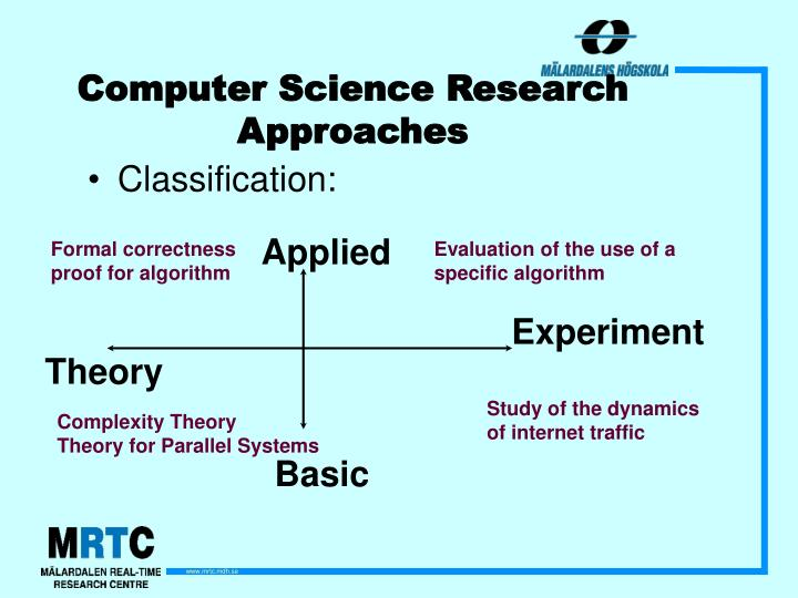 Computer Science Research Approaches