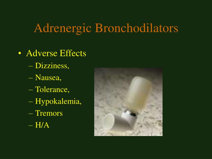 Adrenergic Bronchodilators