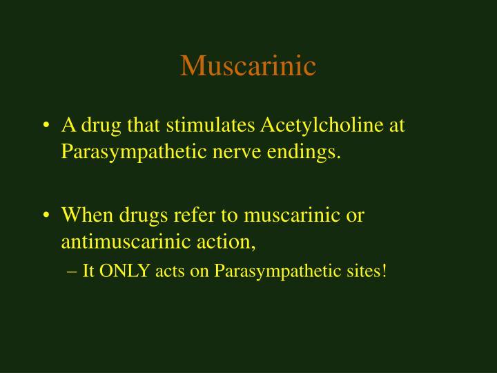 Muscarinic
