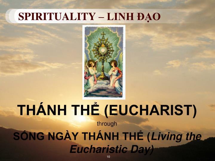 SPIRITUALITY – LINH ĐẠO