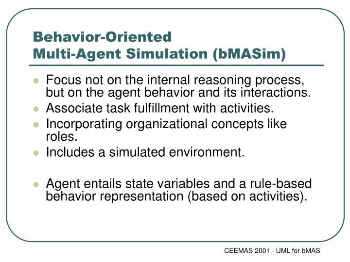 Behavior-Oriented