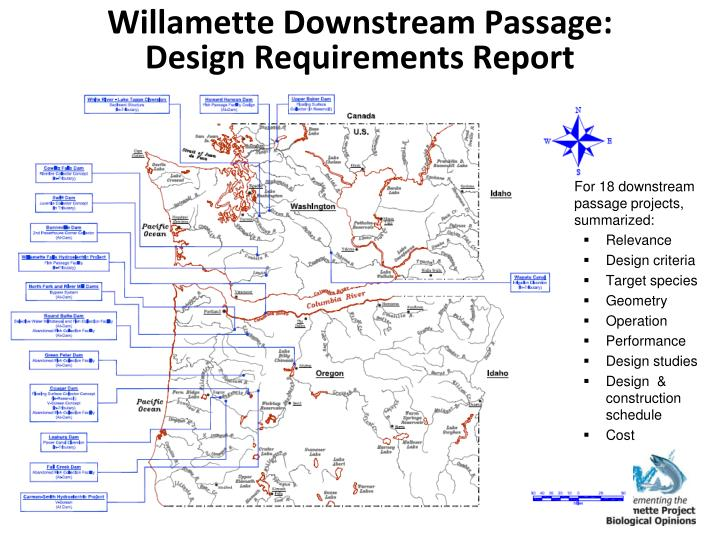 Willamette Downstream Passage: