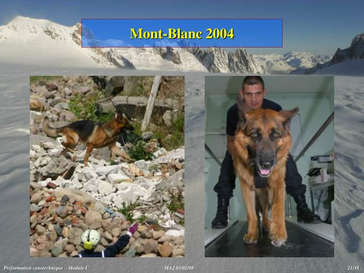 Mont-Blanc 2004