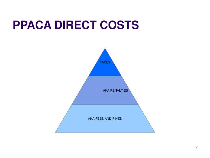 Ppaca direct costs