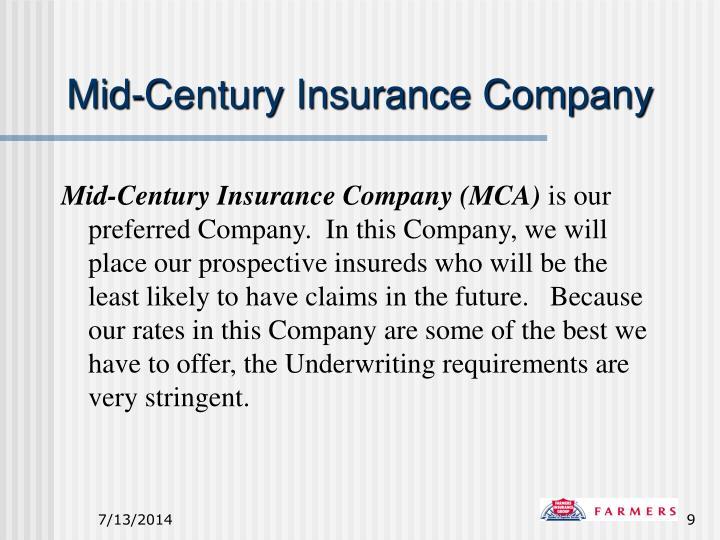 Mid-Century Insurance Company