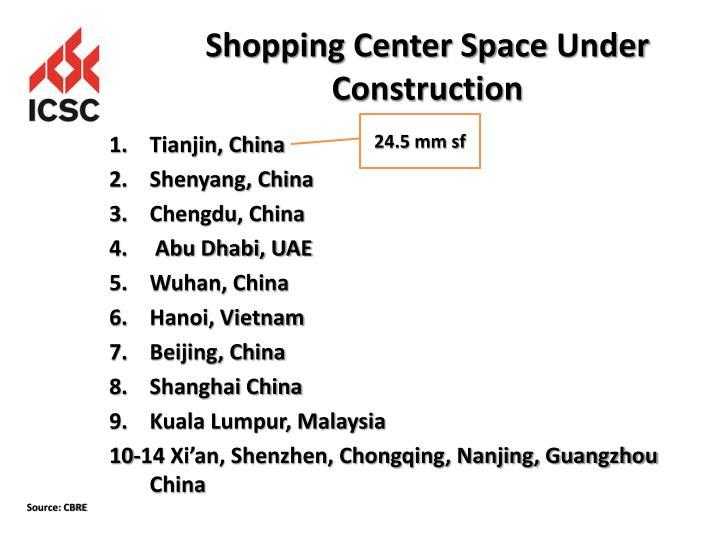 Shopping Center Space