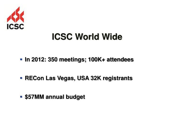 ICSC World Wide