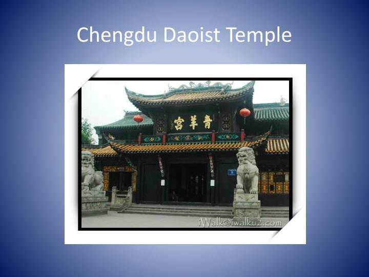 Chengdu Daoist Temple