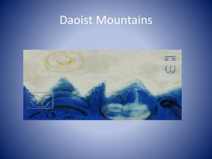 Daoist Mountains