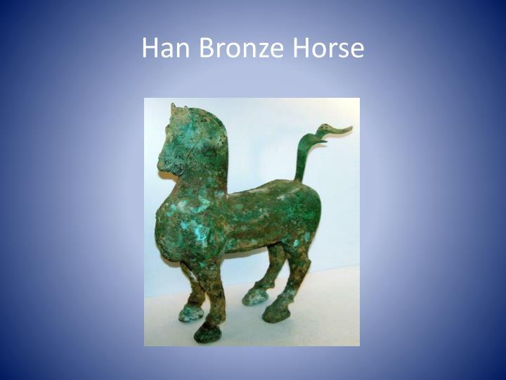 Han Bronze Horse