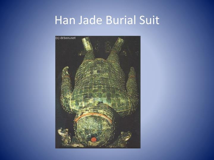 Han Jade Burial Suit
