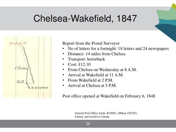 Chelsea-Wakefield, 1847
