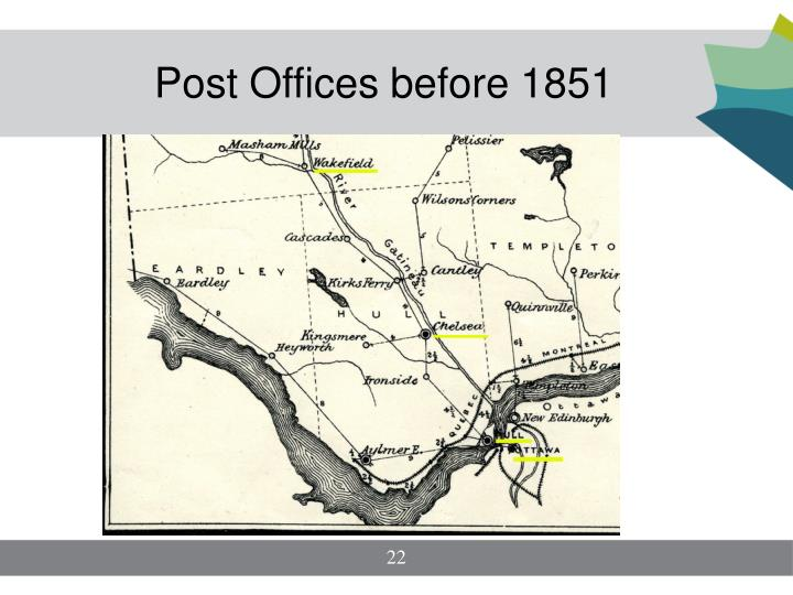 Post Offices before 1851