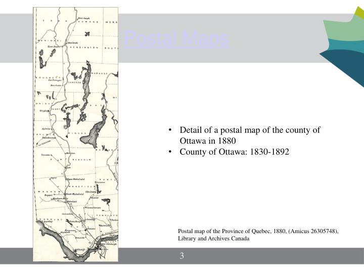 Postal Maps