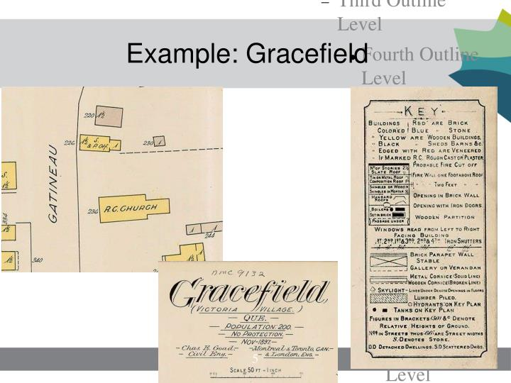 Example: Gracefield
