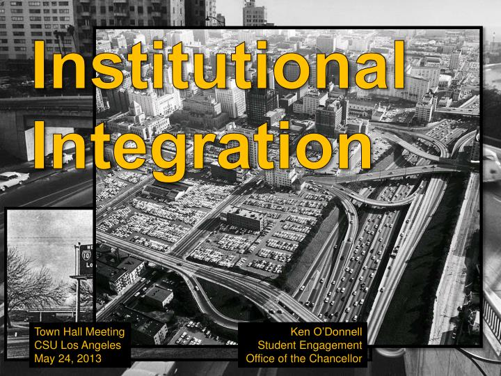 Institutional Integration