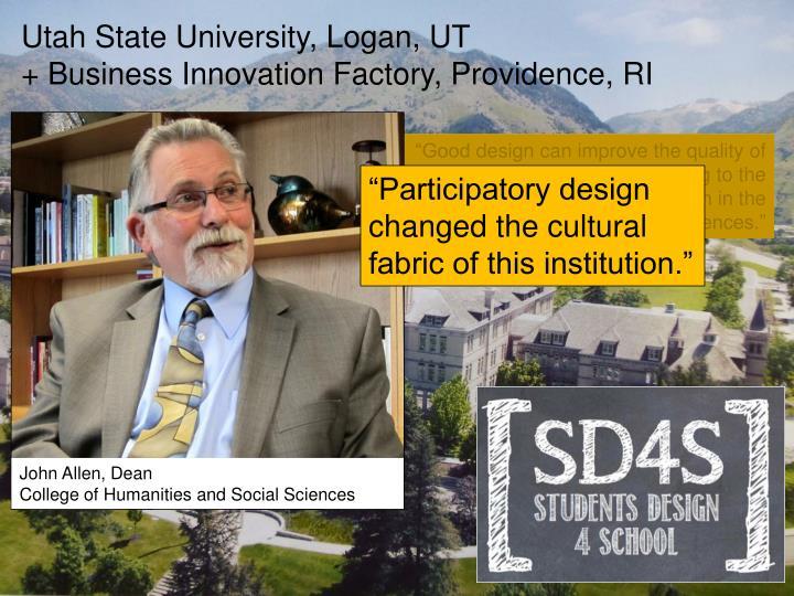 Utah State University, Logan, UT