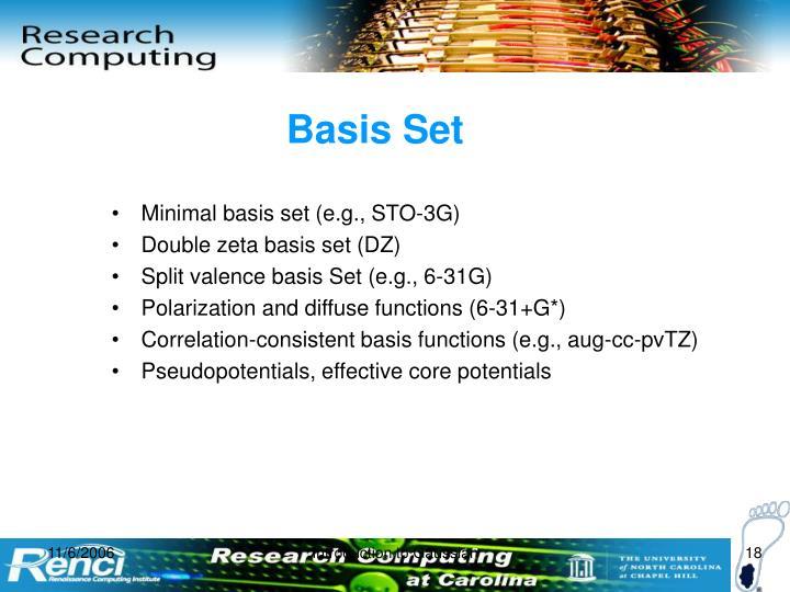 Basis Set